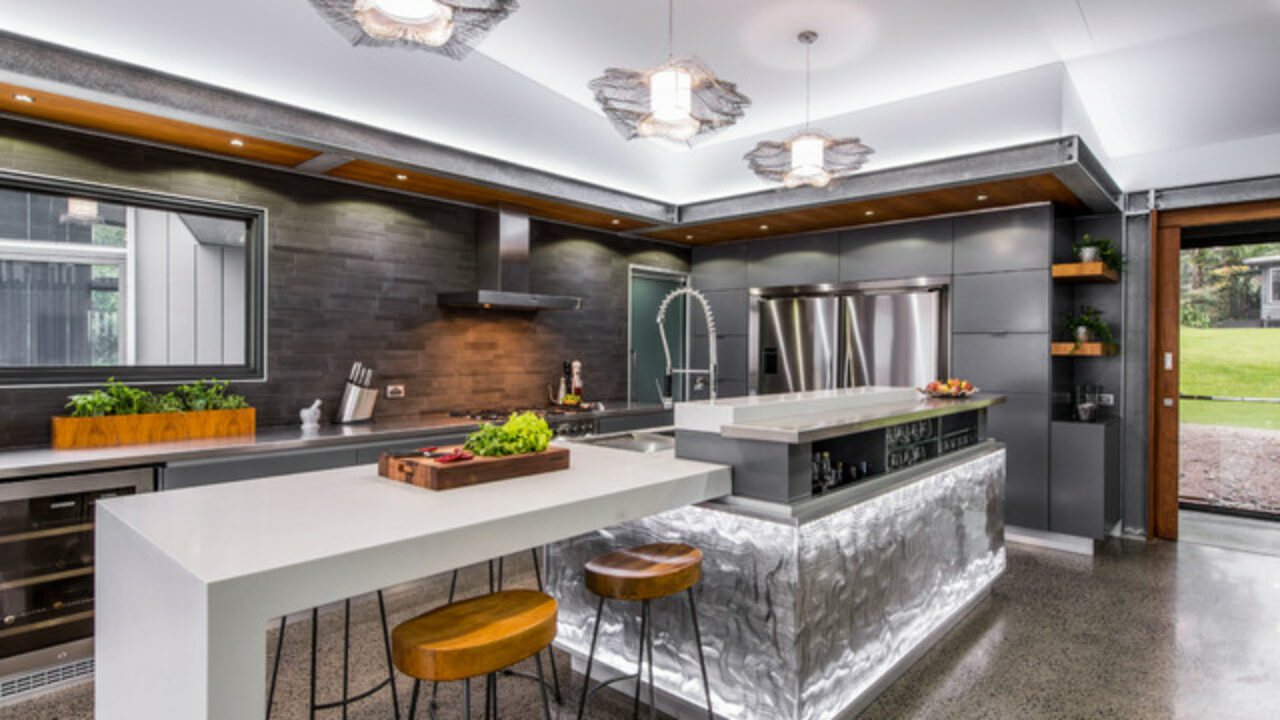 18 Outstanding Contemporary Kitchen Designs That Will Bring ...