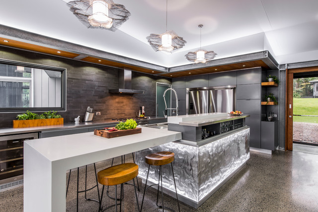18 Outstanding Contemporary Kitchen Designs That Will ... on Modern Kitchen Remodel Ideas  id=13815