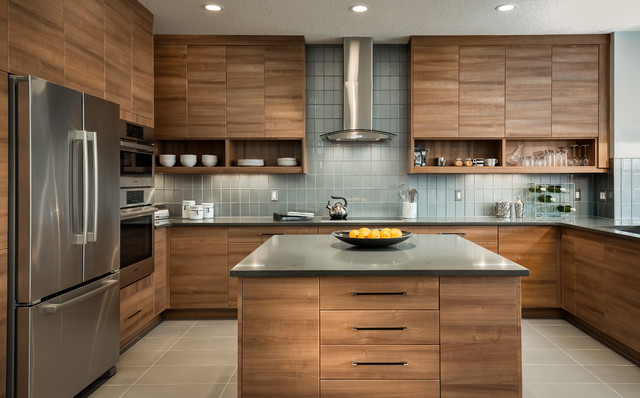 18 Outstanding Contemporary Kitchen Designs That Will ...