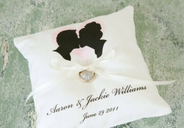 16 Creative DIY Ring Bearer Pillow Ideas - wedding rings, Wedding Ring, wedding, ring pillow bearer, ring pillow, ring, pillow bearer, Pillow, diy wedding, diy, crafts, craft
