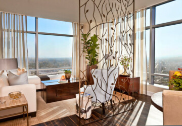 Make Space With Stylish Room Dividers: 24 Clever & Contemporary Ideas - Stylish, room dividers, room divider, room, interior, home design, home decor, home, functional, Clever