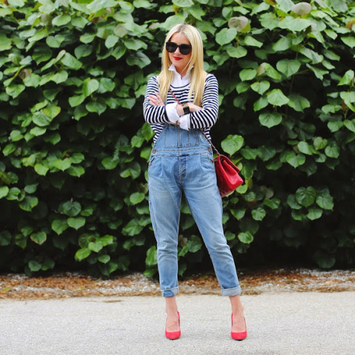 17 Popular and Trendy Dungarees Outfit Ideas
