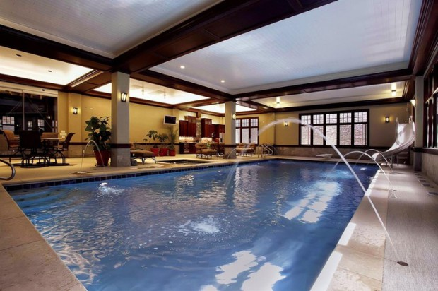 20 Luxury Indoor Swimming Pool Designs For A Delightful Dip - Style ...