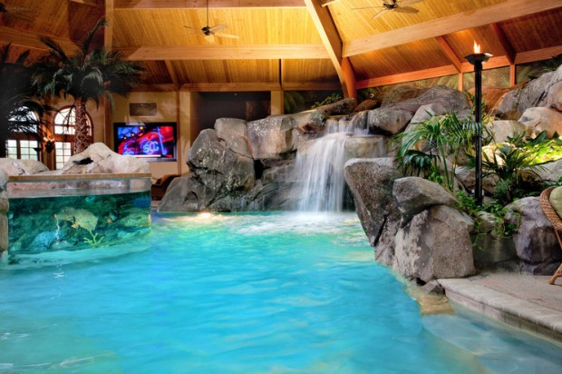 20 luxury indoor swimming pool designs for a delightful dip style