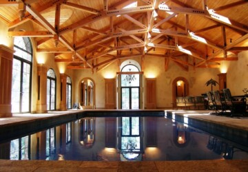 20 Luxury Indoor Swimming Pool Designs For A Delightful Dip - swimming pools, Luxurious, indoor swimming pool, indoor design