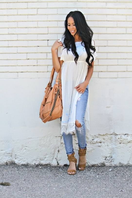 21 Chic Outfit Ideas to Take You from Summer to Fall