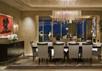 18 Elegant Dining Room Ideas - room, home decor, home, elegant dining room, Elegant, dining rooms, dining room