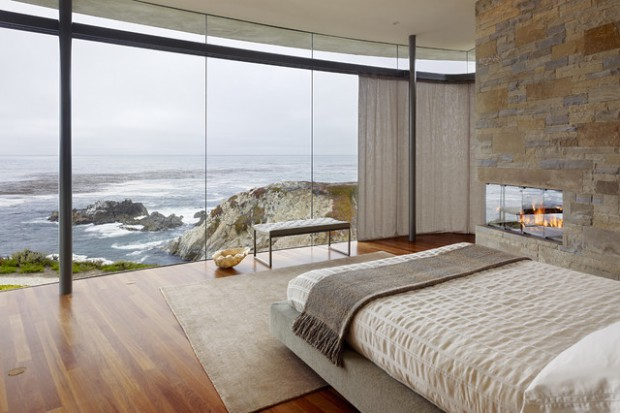 Enjoy The View: 17 Beautiful Window Wall Living Spaces