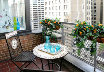 17 Small Balcony Designs and Decorating Ideas You Will Love - Small Balcony, small, home design, home decor, home