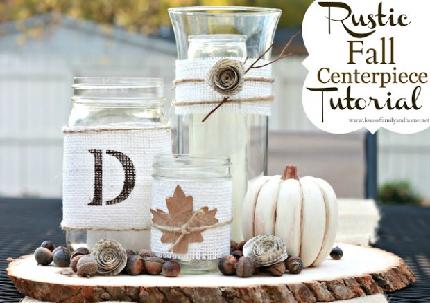 17 Beautiful DIY Fall Centerpieces
