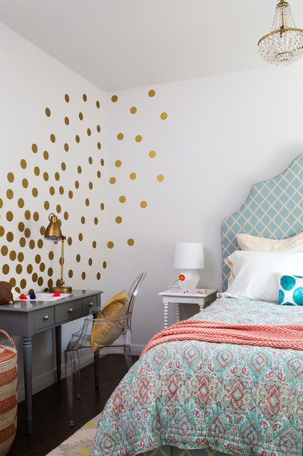 How To Tastefully Decorate With Polka Dots + 22 Home Decor Ideas