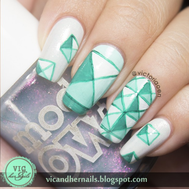 19 Geometric Nail Art Ideas You Have To Try This Season