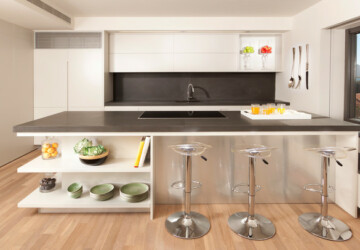 20 Divine Minimalist Kitchen Design Ideas - minimalist kitchen, minimalist, minimalisam, kitchen design