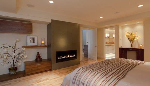 Superb 17 Impressive Master Bedrooms With Fireplaces