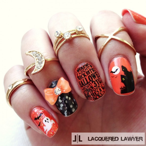 17 Spooky Fun Halloween Nail Art That You Can Actually Do