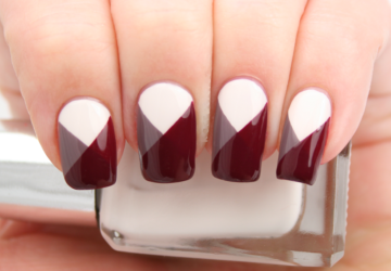 19 Geometric Nail Art Ideas You Have To Try This Season - unique, nails, nail art ideas, nail art idea, nail art design, Nail Art, nail, geometric nail art, geometric