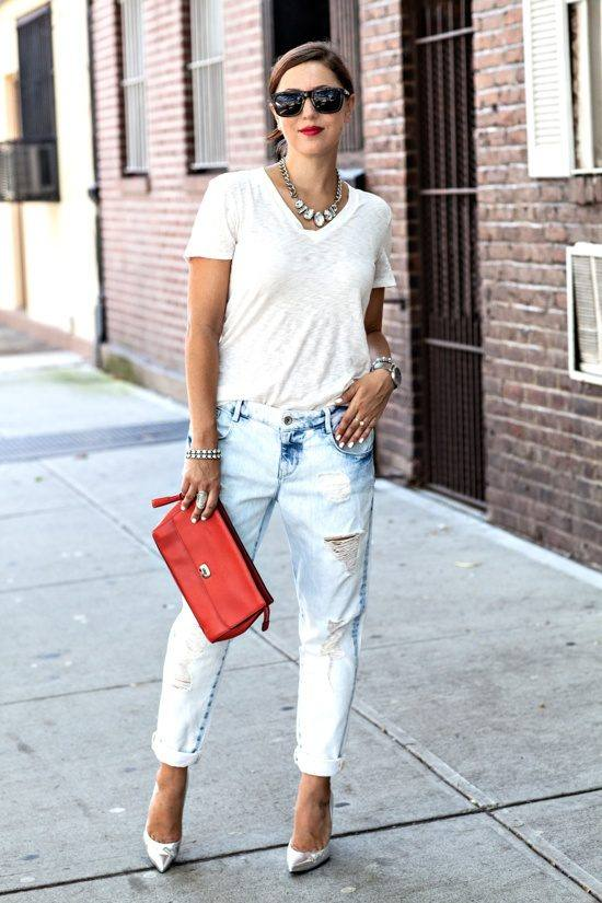 17 Genius Ways How to Style Ripped Boyfriend Jeans