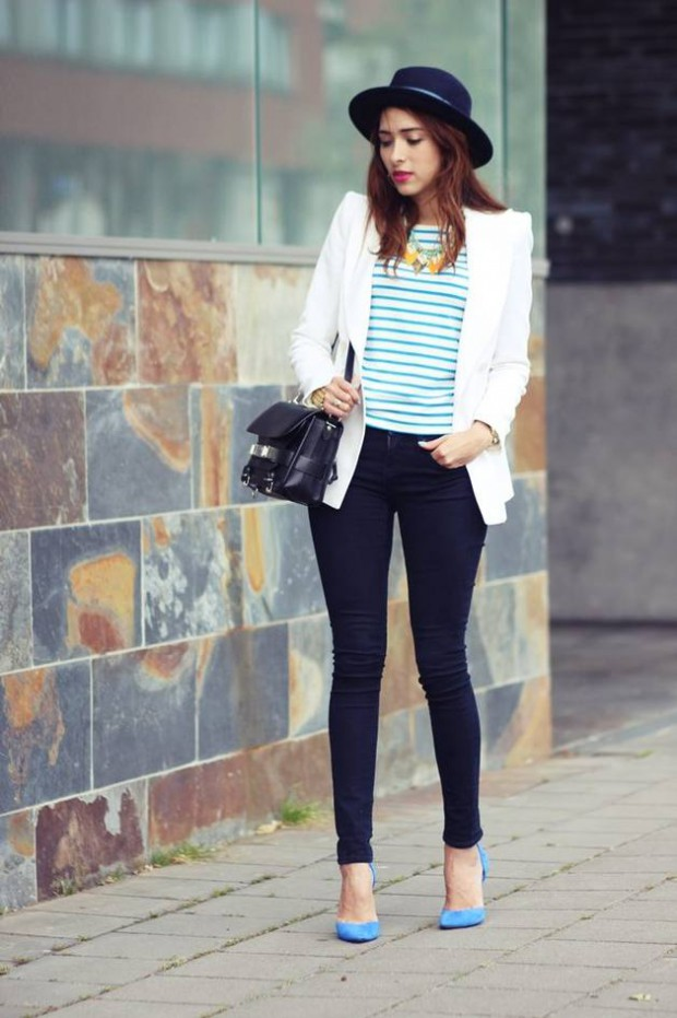20 Stylish Ways to Wear Stripes from Now Through Fall