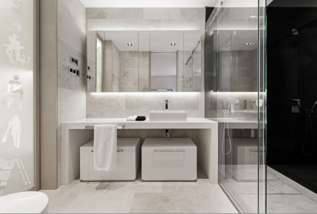 10 Magnificent Bathroom Designs With Stunning Mirrors