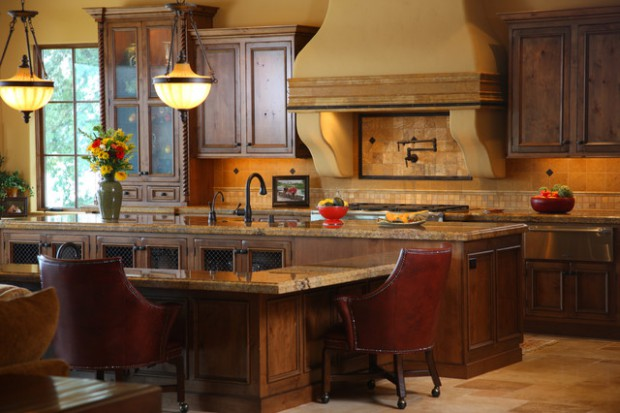 16 Outstanding Tuscan Kitchen Designs