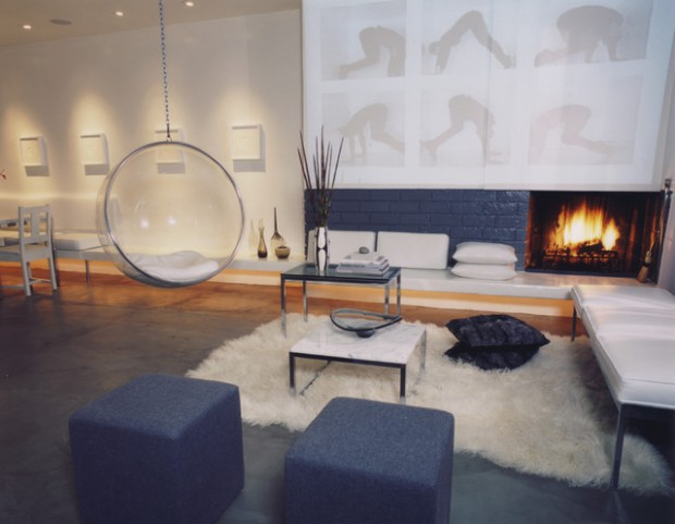 20 Ways to use Sheepskin for Cozy Fall Home Décor (12)