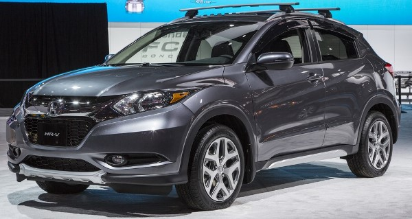 Accessorized 2016 HR-V at the 2015 NAIAS.
