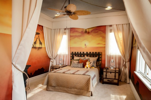 african safari themed room 19 awesome home decor ideas - African Bedroom Decorating Ideas