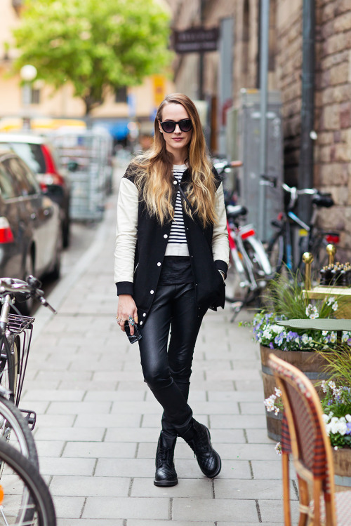 20 Outfits That'll Make You Want a Pair of Leather Pants This Fall
