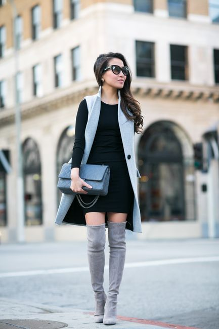 16 Trendy Sleeveless Coat Outfit Ideas