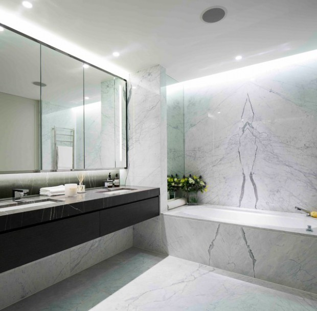 Gentil 18 Stunning Marble Bathroom Design Ideas