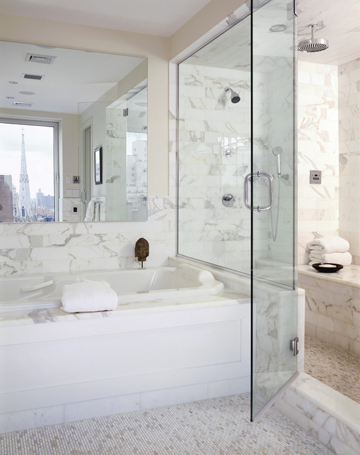 18 Stunning Marble Bathroom Design Ideas