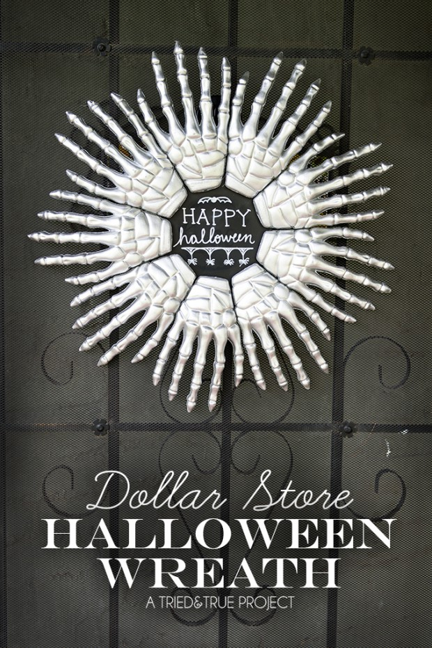 17 Spooktakcular DIY Halloween Wreath Ideas