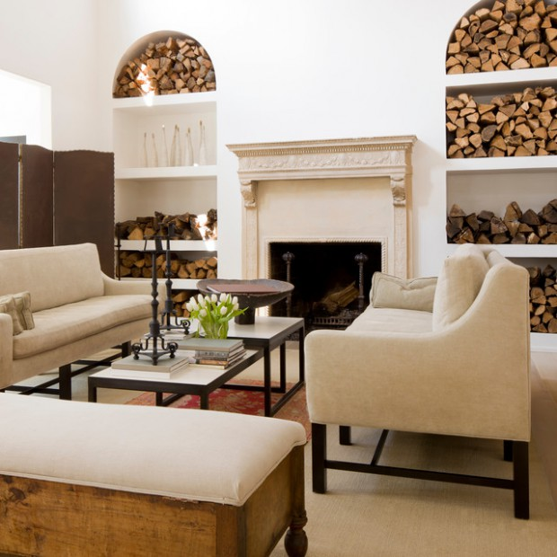 18 Great Ideas How To Decorate Your Home With Firewood