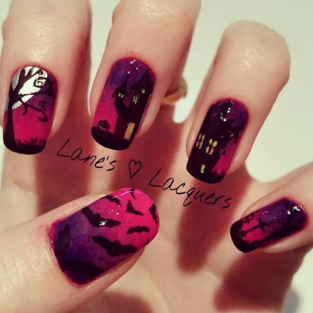 Halloween Nail Designs 18 Easy and Fun Halloween Nail Art Ideas