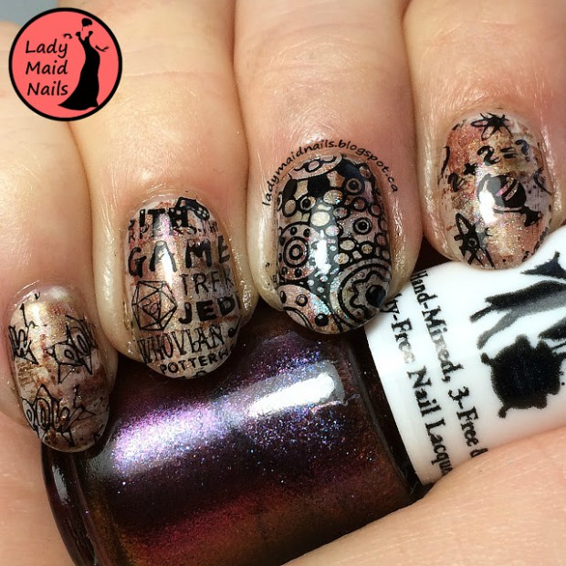 Describe Your Hobby Though Your Nails: 18 Creative Nail Art Ideas