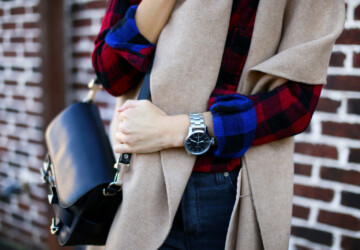 Plaid Cool! 20 Cozy Outfit Ideas With Plaid Shirt - trendy, Stylish, style, plaid shirts, plaid shirt outfits, plaid shirt outfit, plaid shirt, plaid cool, plaid, outfits, Outfit ideas, outfit idea, outfit, flannel, fashion
