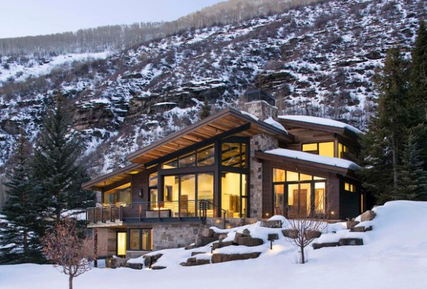 18 Stunning Mountain Houses With Rustic Exterior