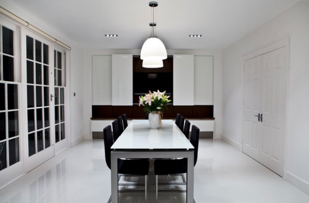19 Stunning White Dinning Room Ideas