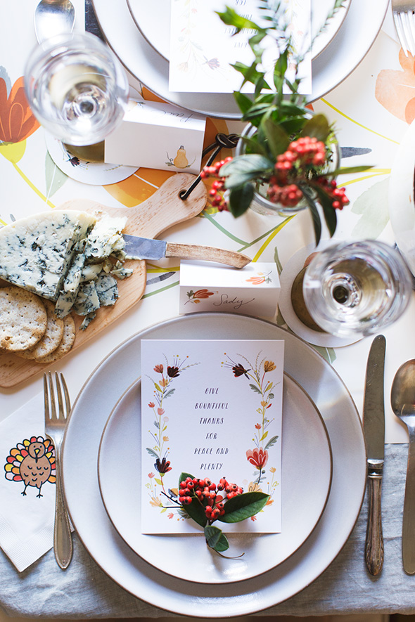 16 Last Minute Thanksgiving Table Setting Ideas - Style Motivation