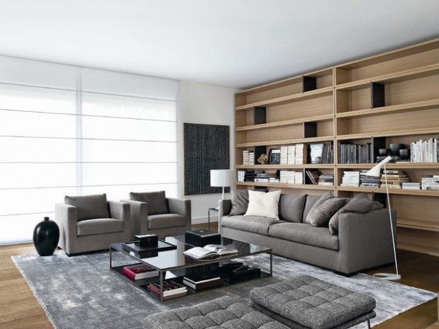 22 Gorgeous Grey Living Room Ideas