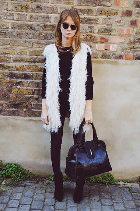 Style Tips How To Wear Fur Vest + 20 Trendy Outfit Ideas