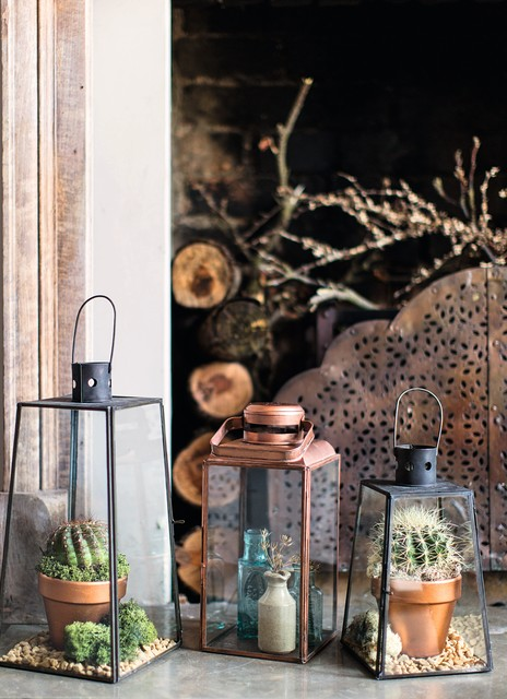 20 Ideas For Decorating Your Home With Glass Plant Terrariums