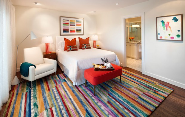 Pop Of Color   20 Colorful Rugs For Cheerful Home Decor