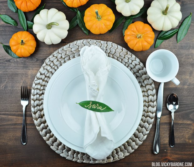 16 Last Minute Thanksgiving Table Setting Ideas