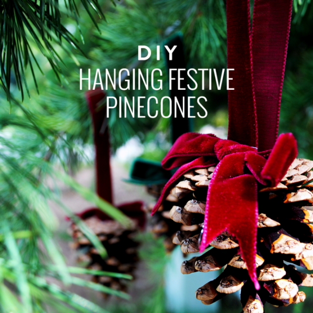 17 Creative DIY Pine cone Decorations For The Upcoming Holidays