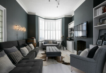 22 Gorgeous Grey Living Room Ideas - living rooms, Living room, home decor, home, grey living room, grey color, grey, Gorgeous, decorating ideas, decorating idea, decorating, decor
