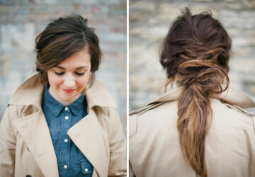 15 Perfect Hairstyles for Rainy Days - woman, simple hairstyles, simple hairstyle, rainy days, rainy day, rainy, rain, hairstyles for rainy days, Hairstyles, hairstyle for rainy day, hairstyle, Hair