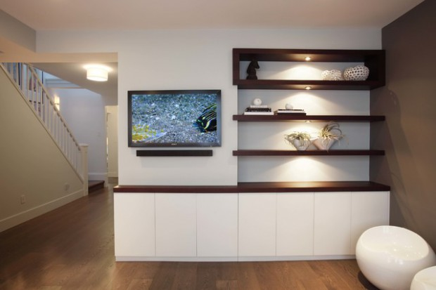 17 Contemporary Drywall Shelves Ideas Style Motivation