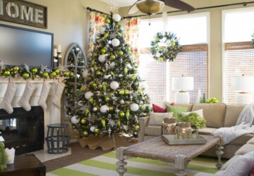 15 Charming Christmas Tree Decorating Ideas to Try This Season - Diy Christmas tree, Christmas tree, christmas decorating, christmas decor, Christmas