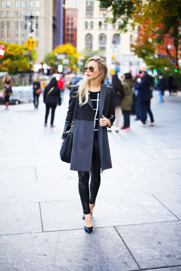 22 Preppy Coat Outfit Ideas for Fall/Winter Season